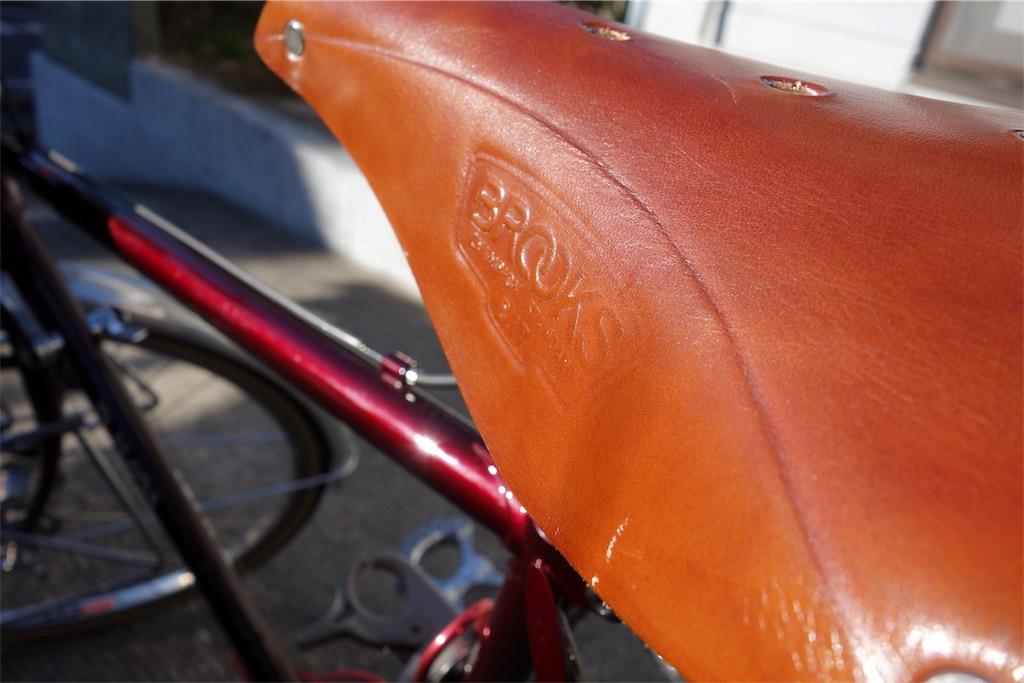 ブルックスの革サドル「B17」