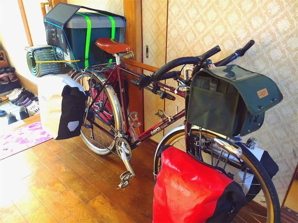 日本一周で使った自転車