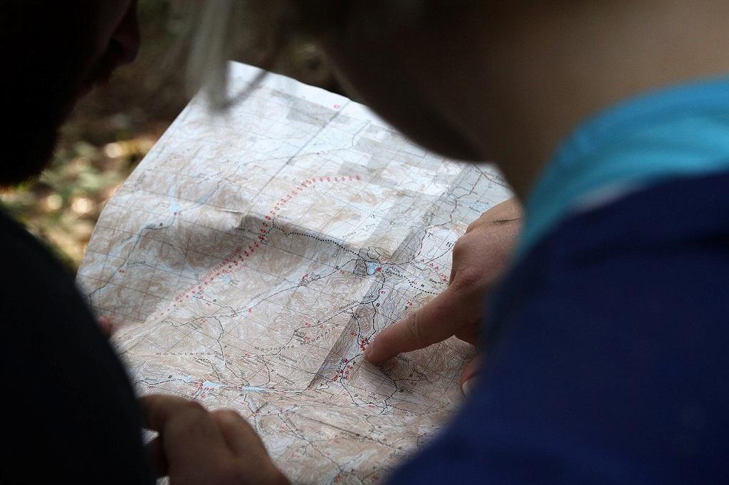 マップの目的地