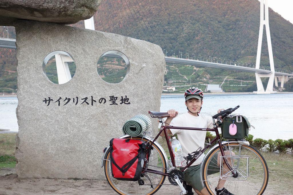 しまなみ海道のサイクリストの聖地