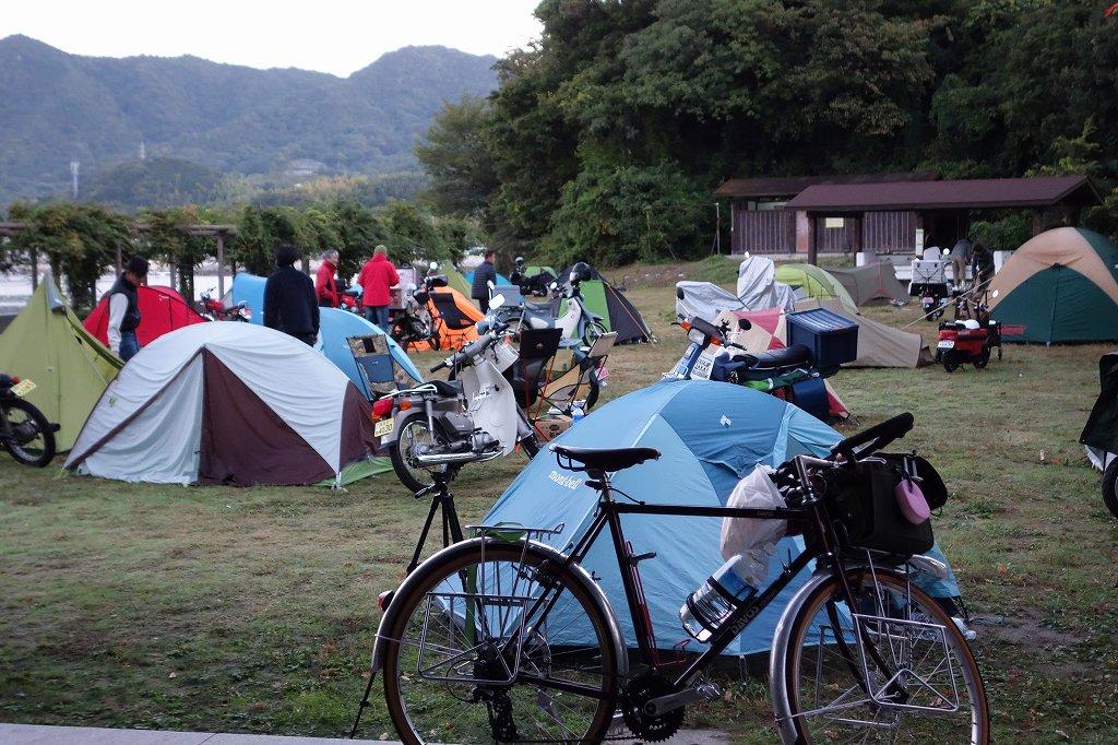 見近島キャンプ場