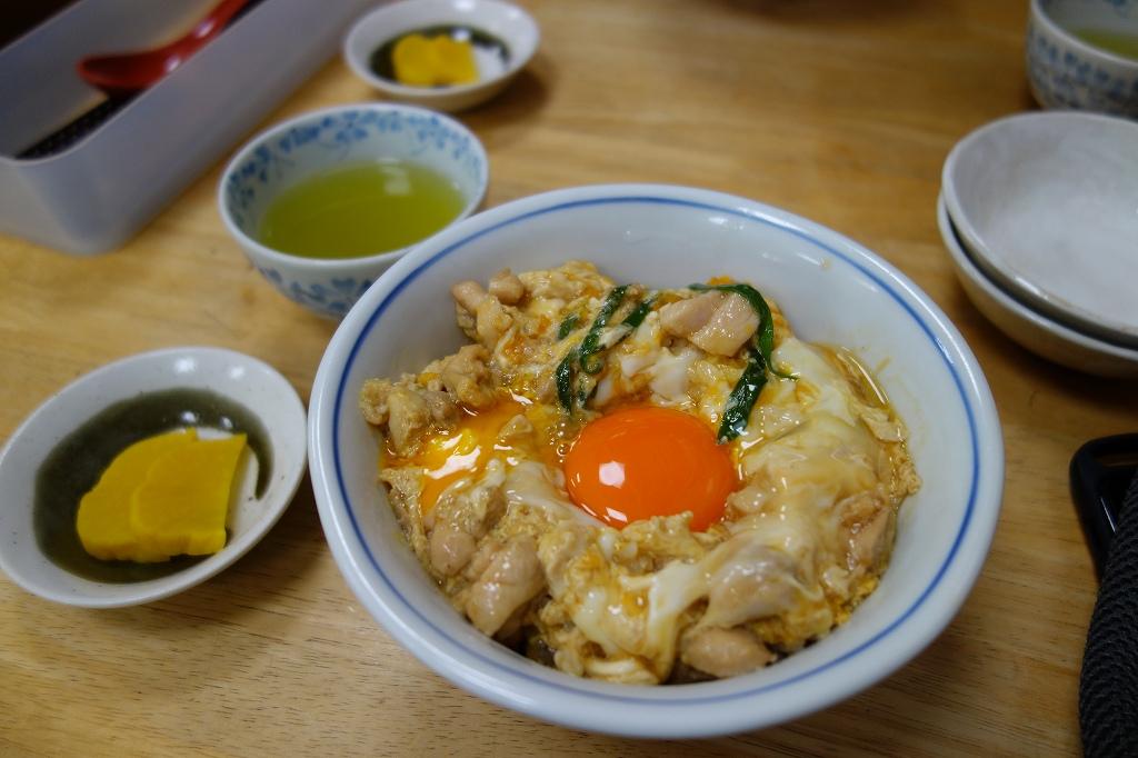 長浜市 鳥喜多本店の親子丼