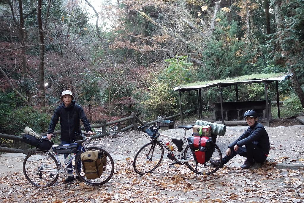 自転車キャンプで平原の滝キャンプ場へ