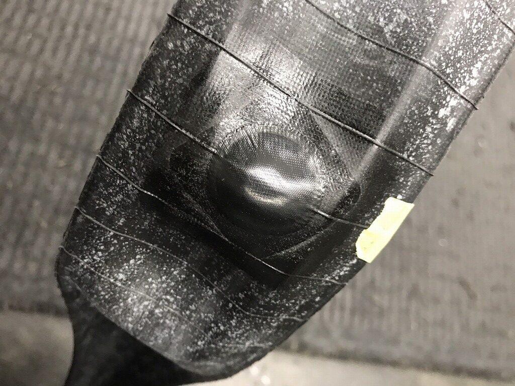 チューブレスタイヤ パンク修理